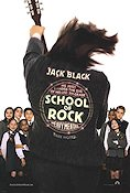 School of Rock 2003 poster Jack Black Richard Linklater
