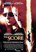 The Score 2001 poster Robert De Niro Frank Oz