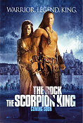 The Scorpion King 2001 poster Dwayne Johnson Chuck Russell