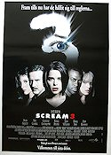 Scream 3 1999 poster David Arquette Wes Craven