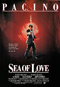 Sea of Love 1989 poster Al Pacino Harold Becker