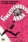 Sensationernas anka 1951 poster Douglas Fairbanks Jr Val Guest