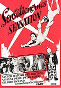 Sensationernas sensation 1959 poster Victor Mature
