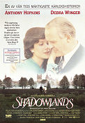 Shadowlands 1993 poster Anthony Perkins Richard Attenborough