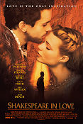 Shakespeare in Love Poster 68x102cm USA RO original