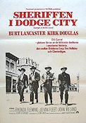 Sheriffen i Dodge City Poster 70x100cm FN original