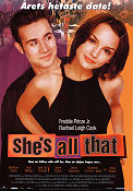 She's All That 1999 poster Freddie Prinze Jr
