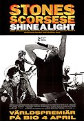 Shine a Light 2008 poster Rolling Stones Martin Scorsese