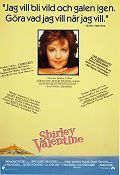 Shirley Valentine 1989 poster Pauline Collins Lewis Gilbert
