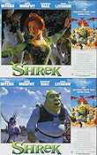 Shrek Lobbykort USA 11x14 NM original