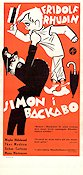 Simon i Backabo 1934 poster Fridolf Rhudin