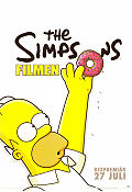 The Simpsons filmen 2007 poster Homer Simpson Matt Groening