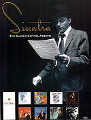 Sinatra the Classic Capitol Albums CD 1990 affisch Frank Sinatra