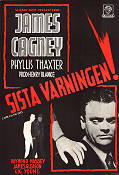 Sista varningen 1951 poster James Cagney