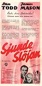Sjunde sl�jan Poster 30x70cm NM original
