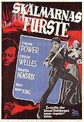 Skälmarnas furste 1949 poster Tyrone Power Henry King