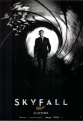 Skyfall Poster 70x100cm advance RO original