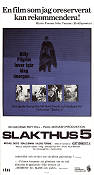 Slakthus 5 1972 poster Michael Sacks George Roy Hill