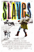 Slaves of New York 1989 poster Chris Sarandon