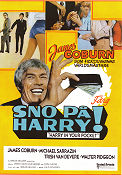 Sno på Harry 1973 poster James Coburn