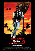 Snuten i Hollywood 2 1987 poster Eddie Murphy