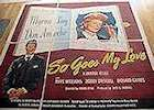So Goes My Love 1946 poster Myrna Loy