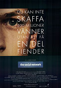 The Social Network 2010 poster Jesse Eisenberg David Fincher