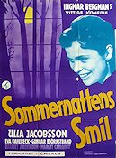 Sommarnattens leende Poster 62x84cm Denmark Small piece missing original