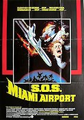 SOS Miami Airport 1978 poster William Shatner