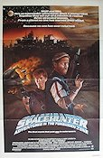 Spacehunter 1983 poster Peter Strauss