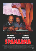 Spanarna 1987 poster Richard Dreyfuss
