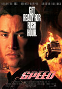 Speed 1994 poster Keanu Reeves