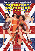 Spice World 1997 poster Spice Girls Bob Spiers