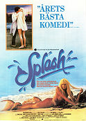 Splash 1984 poster Tom Hanks