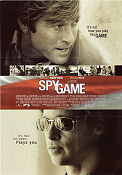 Spy Game 2001 poster Robert Redford Tony Scott