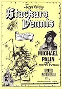 Stackars Dennis 1980 poster Michael Palin Terry Gilliam