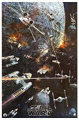Star Wars LP poster 1977 poster
