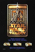 The Star Wars Trilogy 1996 poster George Lucas