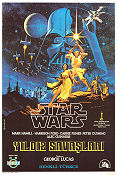 Star Wars Turkey 1977 poster Mark Hamill George Lucas