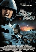 Starship Troopers 1997 poster Dina Meyer Paul Verhoeven