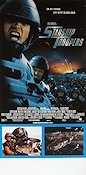 Starship Troopers Poster 30x70cm NM original