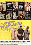 Stoppa pressarna 1974 poster Jack Lemmon Billy Wilder