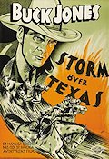 Storm över Texas 1935 poster Buck Jones