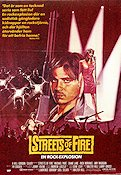 Streets of Fire Poster 70x100cm FN original