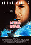Striking Distance 1993 poster Bruce Willis