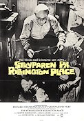 Stryparen på Rillington Place 1971 Filmaffisch Richard Attenborough Richard Fleischer
