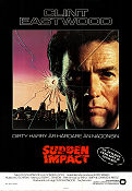 Sudden Impact 1983 poster Clint Eastwood