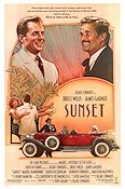 Sunset 1988 poster Bruce Willis