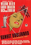 Sunset Boulevard 1950 poster Gloria Swanson Billy Wilder