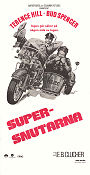 Supersnutarna 1977 poster Terence Hill EB Clucher